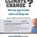 Climate Change Forum Bowral